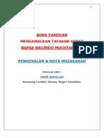 Buku Panduan Pengenalan & Muzakarh