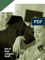 How to Read a Balance Sheet Big