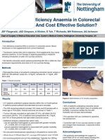 Treating Iron Deficiency Anaemia in Colorectal Cancer