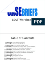 Casebriefs LSAT Course Workbook