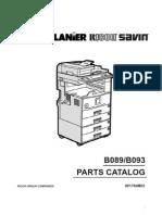 Ricoh - Parts Manual Af2022-2027
