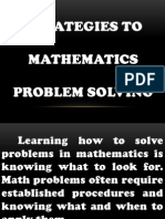seminar in Problem Solving