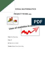 Additional Mathematics Project Work 2013 (Form 5)