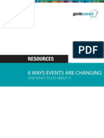 6 Ways Events Are Changing