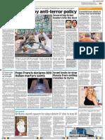 PML-N Swears by Anti-terror Policy Deccan Herald (India), May 13, 2013