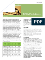 DBLM Solutions Carbon Newsletter 13 June