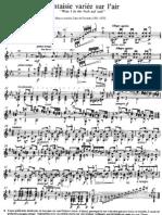 Marco Zani de Ferranti - Op. 1 Fantasie variée
