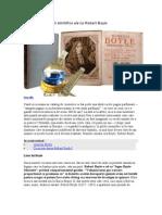 Uimitoarele Profetii Stiintifice Ale Lui Robert Boyle