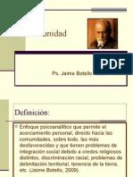 Psicocomunidad Ps. Jaime Botello Valle
