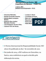 Seminário - FAMETRO