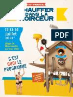 Programmation 21ème Festival Chauffer Dans La Noirceur