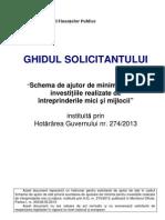 Ghid minimis_2013