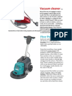 Vacuum Cleaner, Floor polisher3.docx