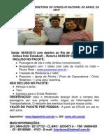 POSSE DA EMÍLIA - PACOTE TERRESTRE