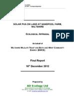 Sandpool Farm ecological assessment.doc