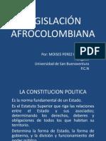 LEGISLACIÓN AFROCOLOMBIANA