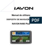 Manual de Utilizare Navon N490 Plus