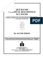 Simon, David - Qué hacer Cuando el Diagnóstico es Cáncer_noPW