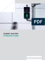 Robert Walters Interview Guide