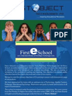 First Object Technologies Limited- A leading Player in E- Education/E-Learning
