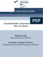 Competitividade e Desempenho Industrial - Fgv