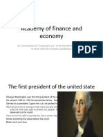 romelus marie presidential report card