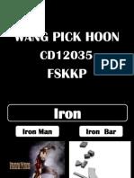 UHL2422 Technical Description of a Iron