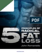 5 Principles of Radical Fat Loss