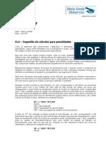 SLA - Penalidades