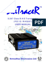 SeaTracer User Manual Iss 1.3