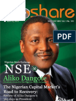Aliko Dangote - 1 Year in Charge of the NSE Presidency
