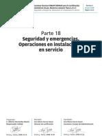 Parte 18 Seguridad y Emergencias. Operaciones en Instalacionesen Servicio