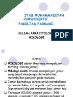 Kuliah 13 Parasitologi Mikologi
