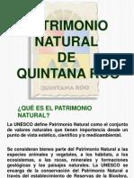 Patrimonio Natural de Quintana Roo