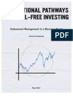 Institutional Pathways to Fossil Free Investing
