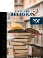 Is There A True Religion ?