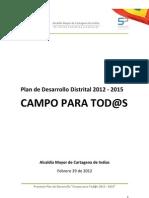 Proyecto Plan de Desarrollo Campo Para Todos (Version Ctp)