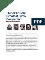 1000 films_Critics Choices
