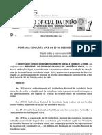 2012 - MDS e CNAS 0.003 - 17.12.2012 - Dispõe sobre a convocação ordinária da IX Conferência Nacional de Assistência Social