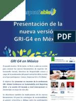 Presentación de la nueva versión GRI-G4 en México