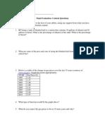 final evaluation content questions
