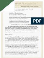 Tadao Okada, MD, MPH, DABFM, FAAFP  Brief Bio & CV (2012_9)
