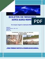 Boletin de Misiones 20-06-2013