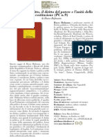 Il Diritto del Diritto, il diritto del potere e l'unità della costituzione, di Hasso Hofmann
