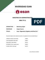 Caso Algarrobos Organicos Del Peru
