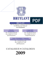 Catalog Bruylant 2009