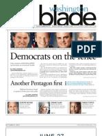 Washingtonblade.com - Volume 44, Issue 25 - June 21, 2013