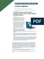 2013 05 13 QuotidianoImpresa.it