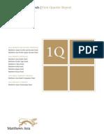 Quarter Report q1 2009