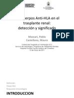 Anticuerpos Anti-HLA en El Trasplante Renal